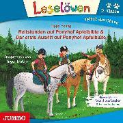 Cover-Bild zu Reitstunden auf Ponyhof Apfelblüte & Der erste Ausritt auf Ponyhof Apfelblüte (Audio Download) von Young, Pippa