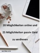 Cover-Bild zu Online und passiv Geld verdienen (eBook) von Kloss, Martina