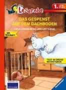 Cover-Bild zu DAS GESPENST AUF DEM DACHBODEN - Leserabe 1. Klasse - Erstlesebuch für Kinder ab 6 Jahren von Königsberg, Katja