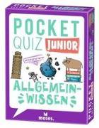 Cover-Bild zu Berger, Nicola: Pocket Quiz junior Allgemeinwissen
