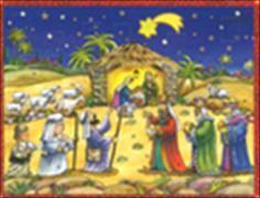 Cover-Bild zu Brändi Set Adventskalender Doppelkarten Motiv 411