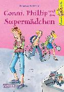 Cover-Bild zu Conni, Phillip und das Supermädchen von Hoßfeld, Dagmar