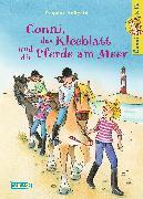 Cover-Bild zu Conni, das Kleeblatt und die Pferde am Meer von Hoßfeld, Dagmar