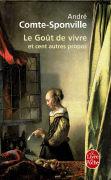 Cover-Bild zu Le gout de vivre von Comte-Sponville, André