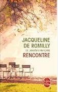 Cover-Bild zu Rencontre von Romilly, Jacqueline de