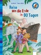 Cover-Bild zu Der Bücherbär. Erstlesebücher für das Lesealter 2. Klasse / Reise um die Erde in 80 Tagen von Verne, Jules
