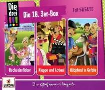 Cover-Bild zu Die drei !!! 18./ 3er Box - Folgen 53,54,55 (3 Audio-CDs)
