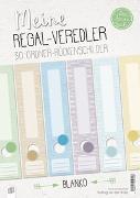 """Cover-Bild zu Meine Regal-Veredler """"live - love - teach"""": 30 Ordner-Rückenschilder - alle Fächer - blanko von Verlag an der Ruhr, Redaktionsteam"""
