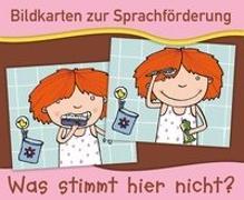 Cover-Bild zu Bildkarten zur Sprachförderung: Was stimmt hier nicht? - Neuauflage von Verlag an der Ruhr, Redaktionsteam