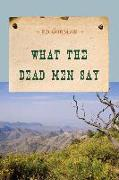 Cover-Bild zu What the Dead Men Say (eBook) von Gorman, Ed