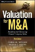 Cover-Bild zu Valuation for M&A (eBook) von Evans, Frank C.