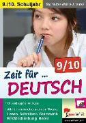 Cover-Bild zu Zeit für Deutsch / Klasse 9-10 (eBook) von Vatter-Wittl, Christiane