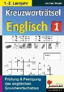 Cover-Bild zu Kreuzworträtsel Englisch / 1.-2. Lernjahr (eBook) von Vatter, Jochen