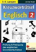 Cover-Bild zu Kreuzworträtsel Englisch / 3.-5. Lernjahr (eBook) von Vatter, Jochen