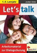 Cover-Bild zu Let's talk (eBook) von Vatter, Jochen