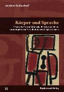 Cover-Bild zu Körper und Sprache (eBook) von Küchenhoff, Joachim