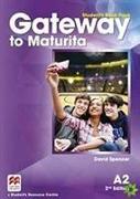 Cover-Bild zu GCOM Gateway to Maturita A2 Student's Book Pack von French, Amanda