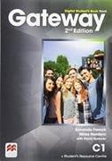 Cover-Bild zu Gateway 2nd edition C1 Digital Student's Book Pack von French, Amanda