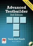 Cover-Bild zu Advanced Testbuilder. Student's Book with 2 Audio-CDs (without Key) von French, Amanda