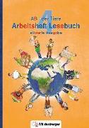 Cover-Bild zu ABC der Tiere 4 - Arbeitsheft Lesebuch, silbierte Ausgabe · Neubearbeitung von Kuhn, Klaus