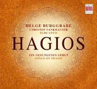 Cover-Bild zu Hagios - Ein gesungenes Gebet von Burggrabe, Helge (Komponist)