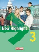 Cover-Bild zu New Highlight, Allgemeine Ausgabe, Band 3: 7. Schuljahr, Schülerbuch, Festeinband von Donoghue, Frank