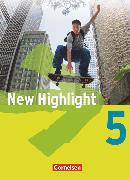 Cover-Bild zu New Highlight, Allgemeine Ausgabe, Band 5: 9. Schuljahr, Schülerbuch, Festeinband von Donoghue, Frank