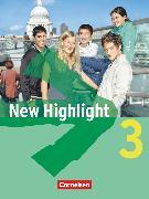 Cover-Bild zu New Highlight, Allgemeine Ausgabe, Band 3: 7. Schuljahr, Schülerbuch, Kartoniert von Donoghue, Frank