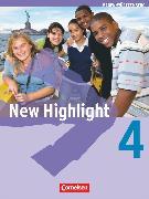 Cover-Bild zu New Highlight, Baden-Württemberg, Band 4: 8. Schuljahr, Schülerbuch, Kartoniert von Donoghue, Frank