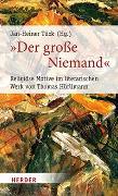 """Cover-Bild zu """"Der große Niemand"""" von Tück, Jan-Heiner (Hrsg.)"""