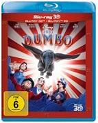 Cover-Bild zu Dumbo - 3D+2D - LA (2 Disc) von Burton, Tim (Reg.)