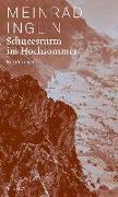 Cover-Bild zu Schneesturm im Hochsommer von Inglin, Meinrad
