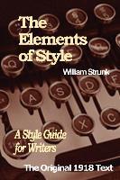 Cover-Bild zu The Elements of Style von Strunk, William I.