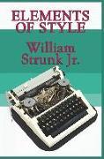 Cover-Bild zu Elements of Style von Strunk, William Jr.