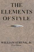 Cover-Bild zu The Elements of Style von Strunk Jr., William