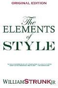 Cover-Bild zu The Elements of Style von William, Strunk Jr.