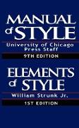 Cover-Bild zu The Chicago Manual of Style & The Elements of Style, Special Edition von William Strunk Jr.