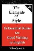 Cover-Bild zu The Elements of Style von Strunk, William Jr.