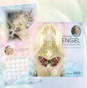 Cover-Bild zu Engel-Botschaften Wandkalender 2022 von Haas, Jana