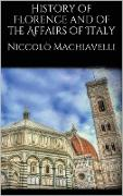 Cover-Bild zu History of Florence and of the Affairs of Italy (eBook) von Machiavelli, Niccolò
