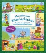 Cover-Bild zu Mein allererster Bilderbuchschatz: Mausebär, ich mag dich sehr!, 10 kleine Schafe und andere Geschichten von Gehm, Franziska