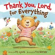 Cover-Bild zu Thank You, Lord, For Everything von Lyons, P J