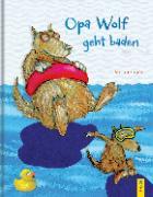 Cover-Bild zu Opa Wolf geht baden von Karch, Stefan