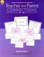 Cover-Bild zu Teacher and Parent Connections von Norris, Jill
