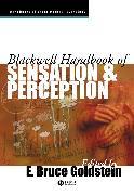 Cover-Bild zu Blackwell Handbook of Sensation and Perception (eBook) von Goldstein, E. Bruce (Hrsg.)