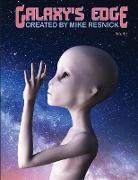 Cover-Bild zu Galaxy's Edge Magazine: Issue 43 March 2020: Special Tribute Issue (Galaxy's Edge, #43) (eBook) von Resnick, Mike