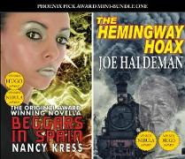Cover-Bild zu PP Award Winners - Mini Bundle 1 - The Hemingway Hoax (Joe Haldeman) & Beggars in Spain (Nancy Kress) (eBook) von Haldeman, Joe
