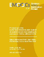 Cover-Bild zu Proceedings of the European Stakeholder Summit on experiences and best practices in and around MOOCs (EMOOCS 2016) von Khalil, Mohammad (Hrsg.)