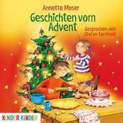 Cover-Bild zu Geschichten vom Advent von Moser, Annette