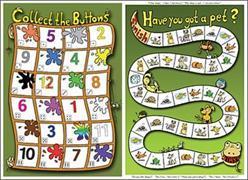 Cover-Bild zu Words and Games 1st Grade von Kaminski, Annette